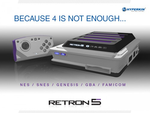 RetroN 5 console by Hyperkin image