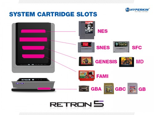 RetroN 5 system UI save states by Hyperkin image