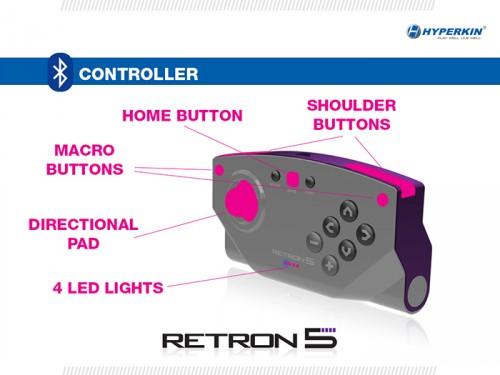 RetroN 5 controller by Hyperkin image