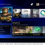 PlayStation 4 user interface image 1