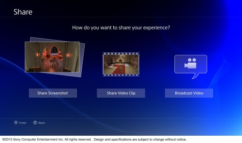 PlayStation 4 user interface image 3