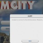 SimCity alert error image
