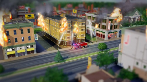 SimCity issues fire image