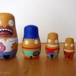 Simpsons nesting dolls
