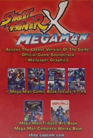 Street Fighter x Mega Man USB drive poster image