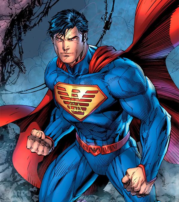 Superman Armani