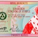 Twenty Rupee Hylian Banknote by G33k1nd159153 image