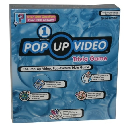 VH1 Pop Up Video Trivia Game
