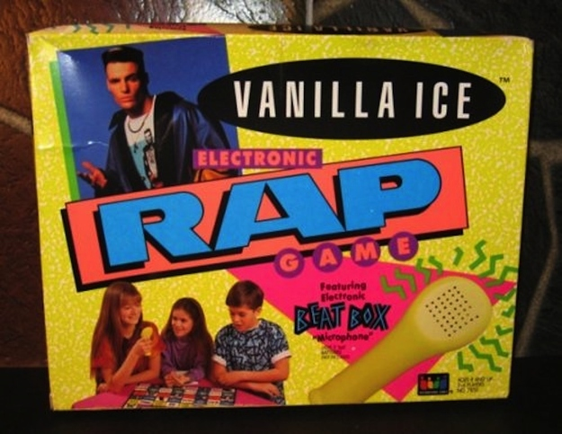 Vanilla Ice Electronic Rap Game