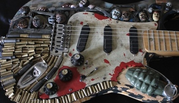 Zombie Apocalypse Guitar 2