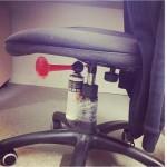 evil office prank