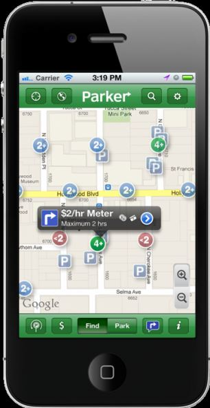 Parking Spot App >> Smartphone App Helps You Find The Right Parking Spot