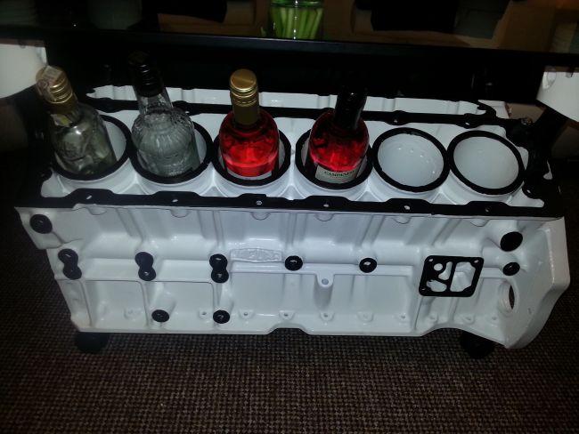 V12 Jaguar Engine Coffee Table 1 Walyou