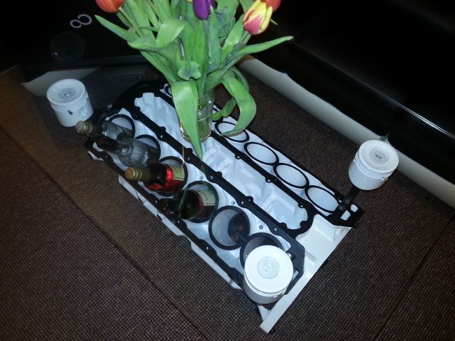 v12 jaguar engine coffee table 3
