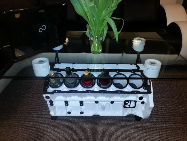 v12 jaguar engine coffee table 4