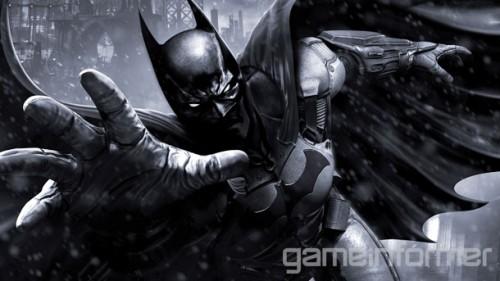 Batman Arkham Origins GameInformer cover image 1