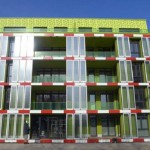 Algae-Powered Building