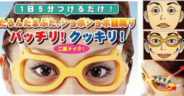 Anti-Wrinkle Glasses