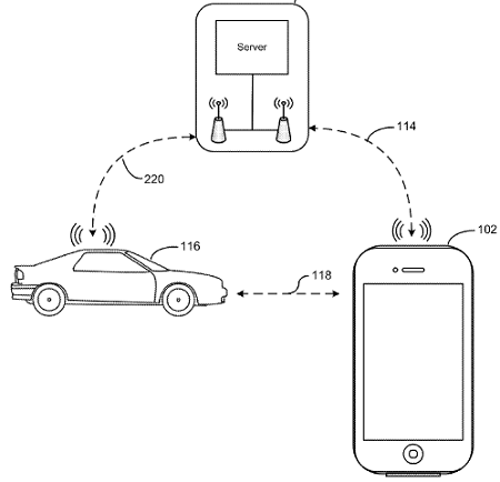 Apple Bluetooth patent image