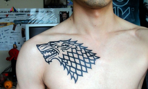 Direwolf tattoo