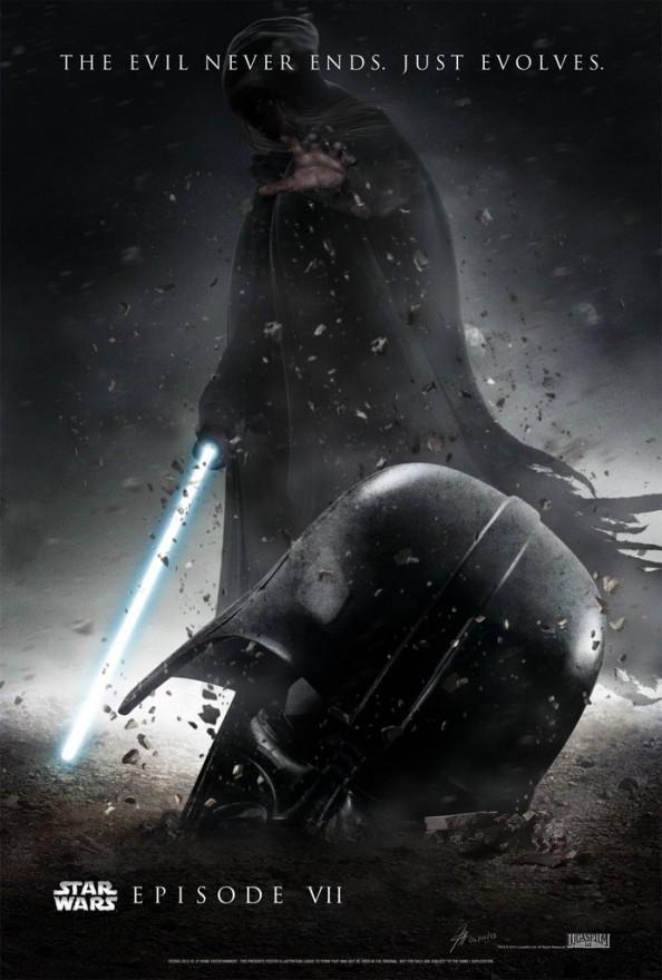 Finding Vaders Helmet