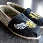Golden Sintch Shoes