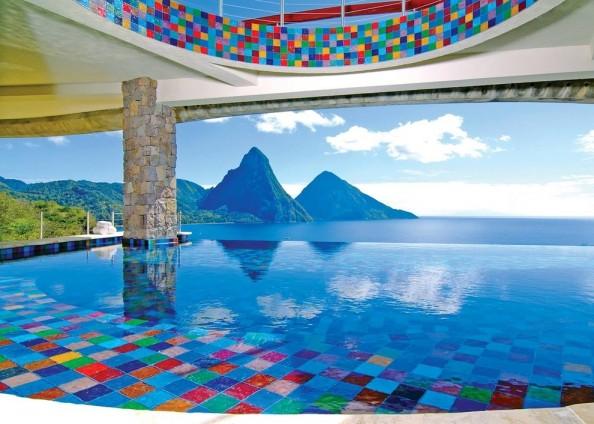 Jade Mountain Resort Pool