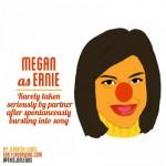 Megan Draper as Ernie