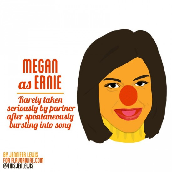 Megan Draper as Ernie