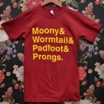 Moony&Wormtail&Padfoot&Prongs