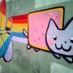 Nyan Cat Graffiti