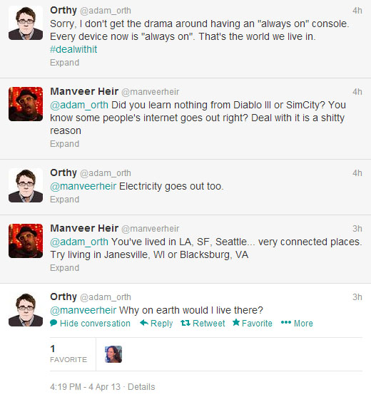 Adam Orth's Twitter comments image 1