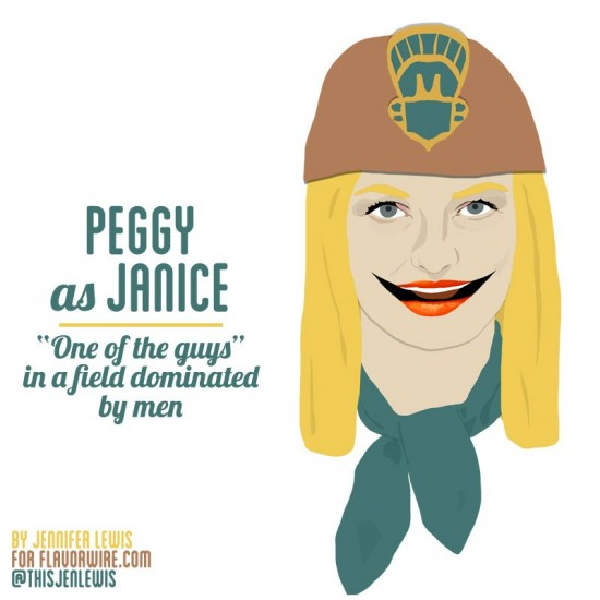 Peggy Olson as Janice