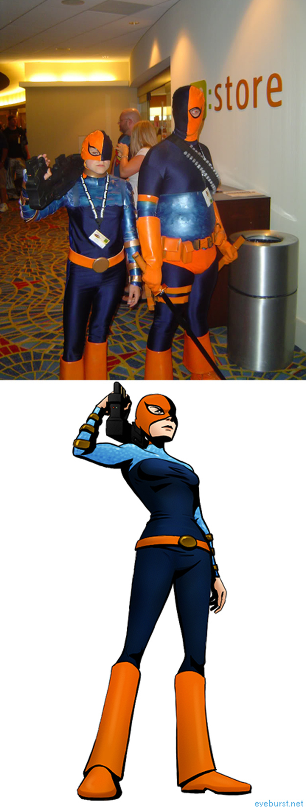Ravager and her dad deathstroke
