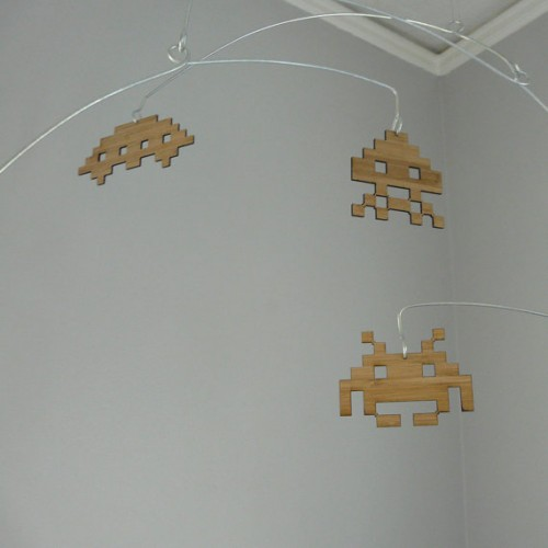 Space Invaders Mobile by Shawn Hampton image 1
