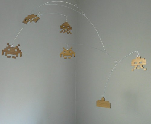 Space Invaders Mobile by Shawn Hampton image 2