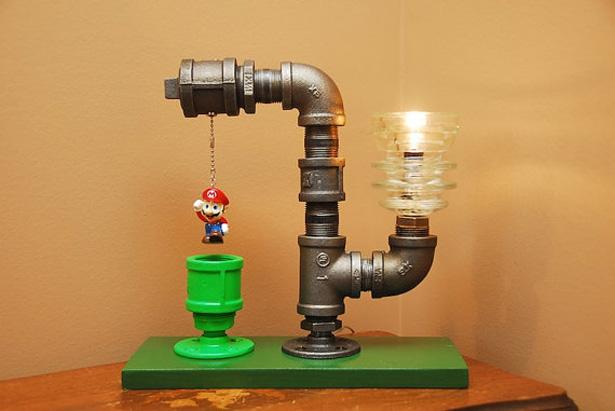 Super Mario Bros Lamp 1