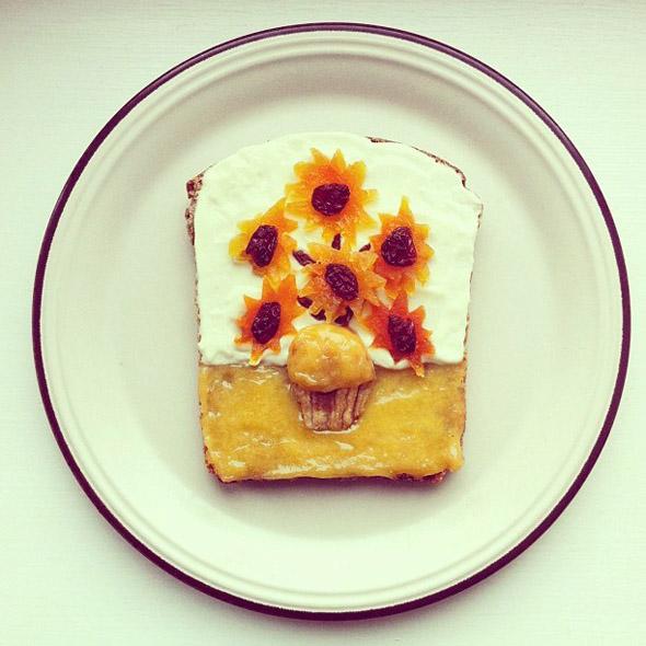 Toast Art Van Gogh