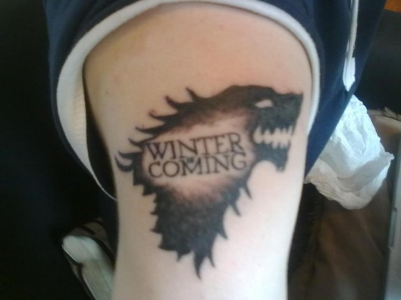 Winter is coming tattoo