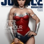 Wonder Woman Magazine Cover