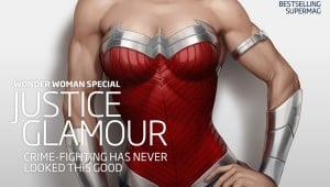 Wonder Woman Magazine Cover