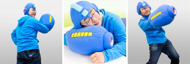 mega man mega buster pillow image 2