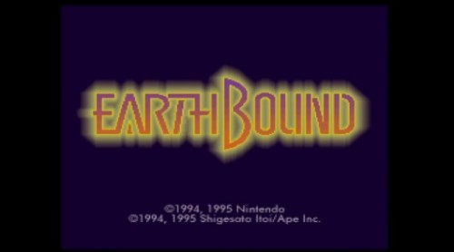 Earthbound SNES image