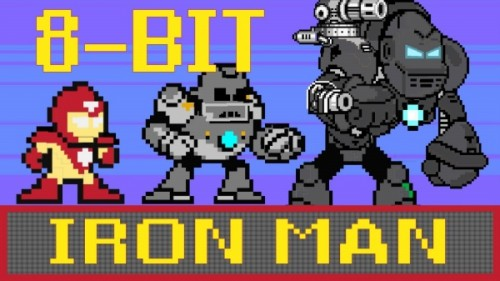 8-Bit Iron Man CineFix image