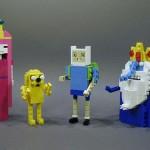 Adventure Time Lego Figurines