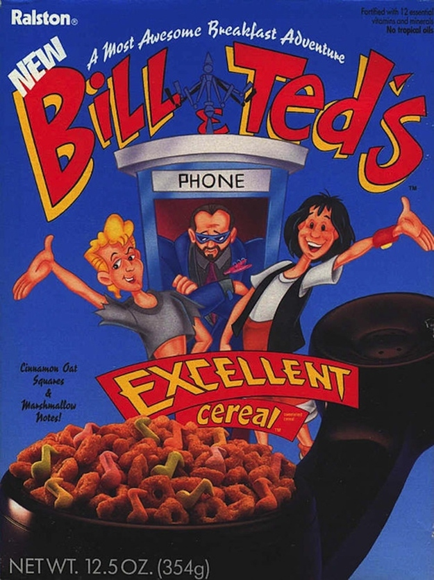 Bill & Ted Cereal