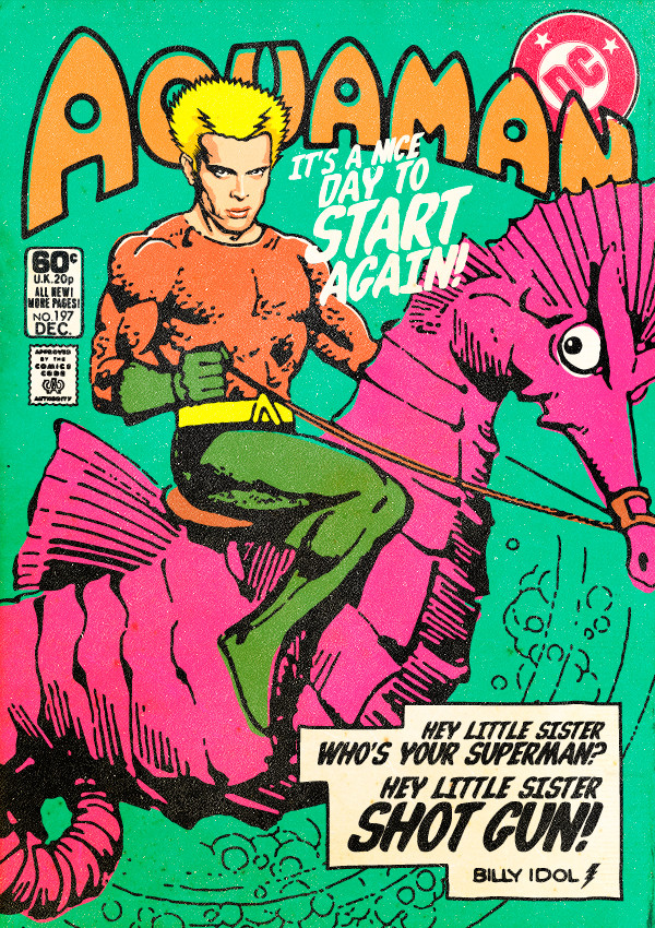 Billy Idol Aquaman