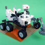 Curiosity Mars Rover Lego