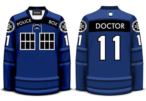 Doctor Who Hockey Jersey