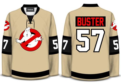 Ghostbusters Hockey Shirt